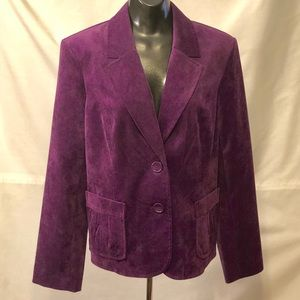 Mint Vintage Corduroy Blazer by Studio Works -16P